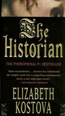 The Historian by Elizabeth Kostova - a story about finding Vlad the Impaler, the man behind the myth of Dracula