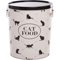 Town & Country Cat Food Canister