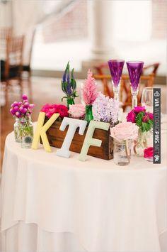 sweetheart table decor ideas | CHECK OUT MORE IDEAS AT WEDDINGPINS.NET | #wedding