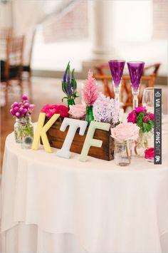 sweetheart table decor ideas | CHECK OUT MORE IDEAS AT WEDDINGPINS.NET | #wedding