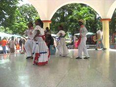 Folk dance performance in La Romana, Dominican Republic