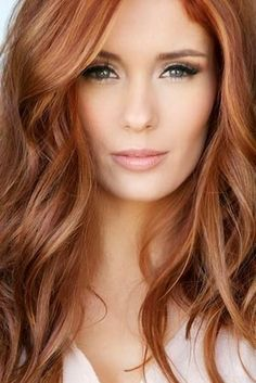 New Hair Color Red Balayage Redheads 43 Ideas Pageant Headshots, Blonde Color, Blonde Shades, Great Hair, Balayage Hair, Haircolor, Copper Balayage, Gorgeous Hair, Pretty Red Hair