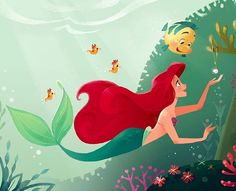 Ariel is my favorite Disney Princess! What's not to like about Princess Ariel fromWalt Disney Pictures  The Little Mermaid? She's a beautiful, daring, free-spirited princess with a lovely voice and a passion for adventure.