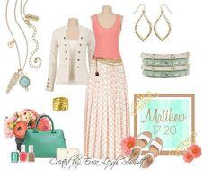 Premier Designs Jewelry - Spring 2014 Matthew 17:20 necklace Creme brûlée and pistachio bracelets