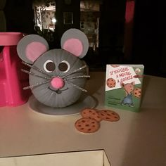 Character Pumpkin- If You Give a Mouse a Cookie