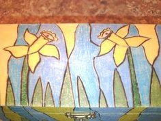 Daffodil Treasure Box by TheTimelessGypsy on Etsy, $25.00