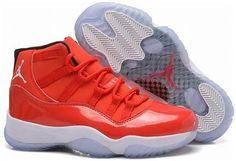5ea4c2171bca Girls Air Jordan 11 Retro GS Carmelo Anthony PE Red White For Sale Womens  Size from Reliable Big Discount! Girls Air Jordan 11 Retro GS Carmelo  Anthony PE ...