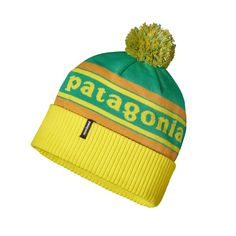 When you pull on the retro Powder Town Beanie, you just may want to break out the heavy bass line and get down to some serious funk. Check it out.