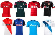 Camisas Champions League - grupo c