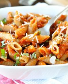 Low FODMAP Recipe and Gluten Free Recipe - Sweet pepper pasta