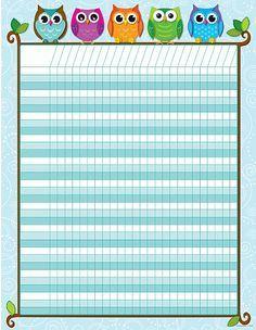 The 30 best attendance charts images on pinterest attendance chart