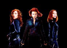 Black Widow/Natasha Romanoff (Scarlett Johannson)