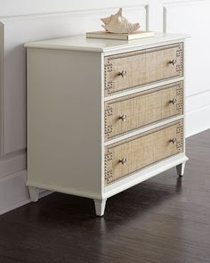 Barclay Butera Jasper Three-Drawer Chest