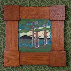 Arts and Crafts Tile frame