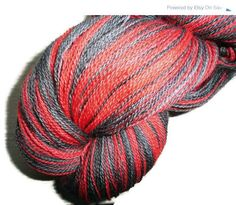 Valentine Sale Phat Fiber February Geekery -  Merino Lace Weight Yarn -  Handdyed The Girl With The Dragon Tatoo