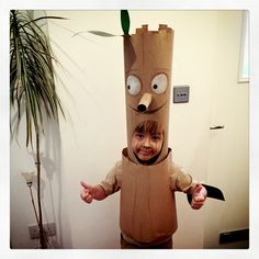 Stickman costume for world book day
