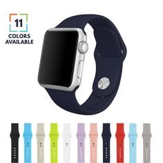 Apple Watch Band, Silicone Strap