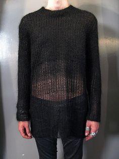 ann demeulemeester knit