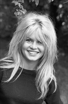 Brigitte Bardot: I am going to start doing my bangs like this!