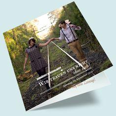 Einladungskarten zur Hochzeit im Bohemian-Look gestalten: Vintage-Hochzeitseinladungen