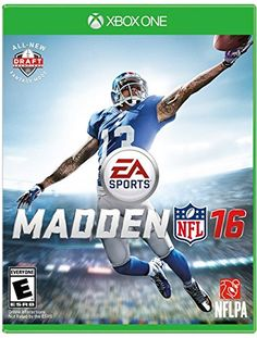 Madden NFL 16 - Xbox One Electronic Arts http://www.amazon.com/gp/product/B00W435C0Y/ref=as_li_qf_sp_asin_il_tl?ie=UTF8&camp=1789&creative=9325&creativeASIN=B00W435C0Y&linkCode=as2&tag=divinetreas03-20&linkId=MBCZZDYI6NNK76DZ