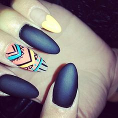 MATTE NAILS / OVAL NAILS/ NAIL ART / NAIL DESIGNS / STILETTO NAILS / ACRYLIC NAILS