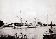 Harbor of Fort de France, Martinique, ca 1898 | par The Caribbean Photo Archive