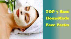 TOP 7 Homemade Face Mask-Pack | Homemade Skin Whitening | Easy Homemade ...