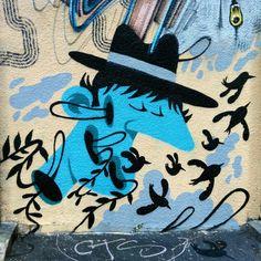 Artist Mister Pee - street art Montreuil - rue de paris, juin 2015