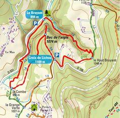 Itinéraires de Randonnée : Les Gorges du Bruyant