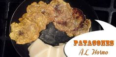 Patacones-al-horno Patacones al Horno | Tostones Horneados Vegan Recipes, Meat, Chicken, Food, Drinks, Fitness, Healthy Recipes, Food Items, Products