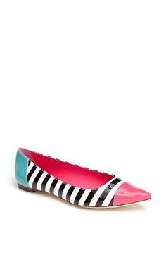 kate spade new york stripe flat available at #Nordstrom
