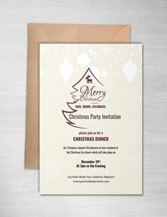 anybody who gets an invitation like the free christmas party invitation template to the big christmas