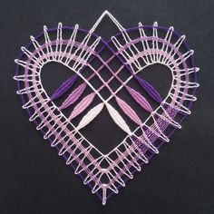 Lace Heart, Lace Jewelry, Bobbin Lace, Happy Valentines Day, Lace Detail, Neutral, Hearts, Butterfly, Pictures