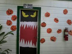 Scary October bulletin board idea Bullying idea.