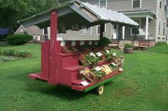 Another portable option.  Produce would have to be transported in the vehicle unless the back of the trailer is storage.
