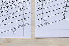 Runterladen und loslegen: unser Schnittmuster-Download Sheet Music, Pattern, Stencils, Tutorials, Patterns, Music Score, Music Charts, Model, Music Sheets
