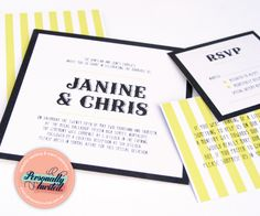 Fairground wedding invitations available for purchase at www.personallyinvited.com.au