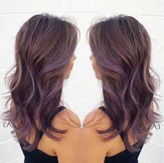 nice Lavender Balayage...