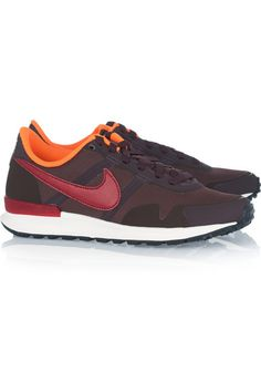 Nike | Air Pegasus 83/30 mesh, rubber and leather sneakers | NET-A-PORTER.COM 100 EUR