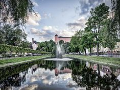 Uppsala, Photos Of The Week, Pond, Mansions, House Styles, Water Pond, Manor Houses, Villas, Mansion