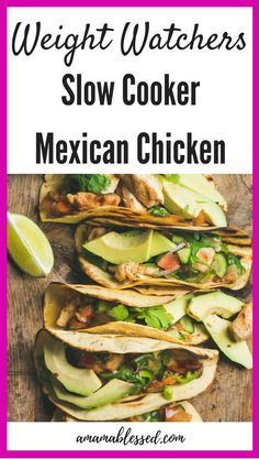 Weight Watchers Mexican Chicken in tacos-0 points