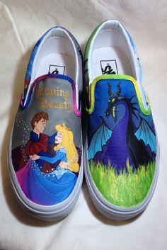 Sleeping Beauty Shoes