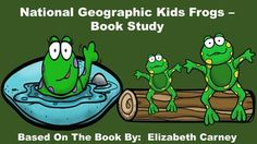 National Geographic Kids Frogs - Book Study.  This pack includes:  an anticipation guide, review quiz, glossary page, vocabulary review, table of contents activity, word cards, and frog writing paper. Science Resources, Science Lessons, Teacher Resources, Teaching Tools, Teaching Ideas, Teaching Methods, Science Fun, Classroom Resources, Teaching Materials