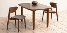 Sori Yanagi dining table and chairs.