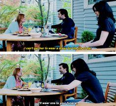 Funny scene from Jessica Jones. David Tennant is bae.