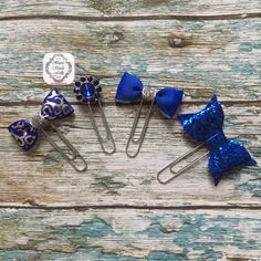 Check out this item in my Etsy shop Paper clip,Planner supplies, handmadefrills spring ,planner stickers ,stationery  ,erin condren, Filofax ,cobalt blue,glitter, blue ,planner clip https://www.etsy.com/uk/listing/262336641/cobalt-blue-and-silver-planner