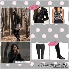 "Allison Argent Style » Season 1 Episode 10 ""Co-Captain"""