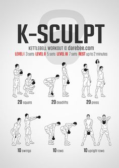 The kettlebell deadlift is a great functional exercise for your legs, lower back and abs. Here's how to perform the kettlebell deadlift: Fitness Studio Training, Cardio Training, Weight Training, Strength Training, Muscle Training, Fun Workouts, At Home Workouts, Killer Workouts, Easy Daily Workouts