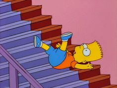 Trending GIF tv funny animation the simpsons bart simpson simpsons bart stairs Simpsons Cartoon, Cartoon Icons, Cartoon Memes, Homer Simpson, Lisa Simpson, Gif Animé, Animated Gif, Simpson Wave, Los Simsons